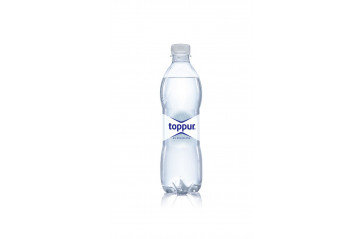 Toppur water carbonated 0,5L