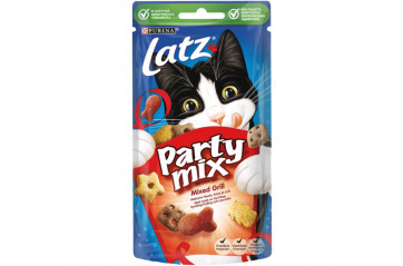 Cat food Party mix grill