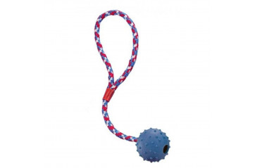 Rubber Ball with Knobs for Dog 7cm