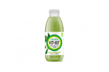 Vit Hit Lean&Grean Apple and Sambucus Nigra 500ml