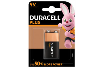 Duracell Plus Power 9v cam 1stk