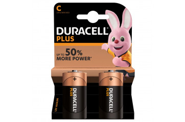 Duracell Plus Power C 2-Pc