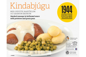 1944 sausages with white sauce