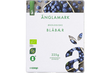 Anglamark blueberries organic 225g