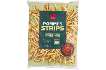 Coop French Fries 900g