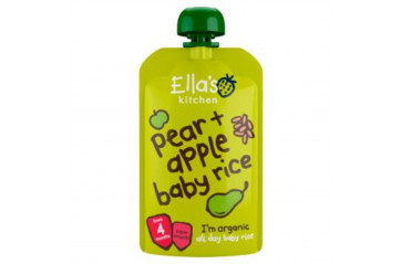 Ellas Pears Apples Rice 120g
