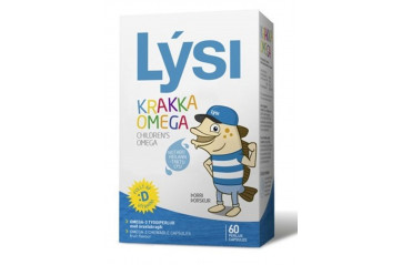 Lýsi children omega 60pc