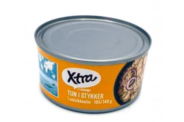 X-tra Tuna in oil 185 gr