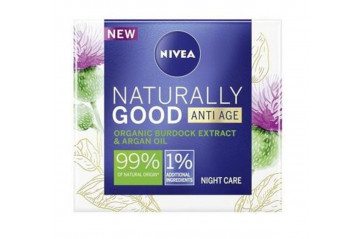NIVEA Nat.Good Næturkrem Anti-Age 50ml