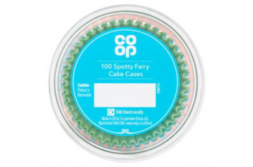 CP Muffin Cups 100pcs Fairycake