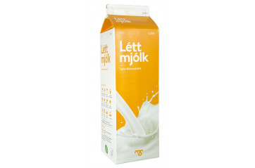 MS skimmed milk 1L
