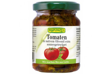 Rapunzel dried tomatoes in olive oil 120g