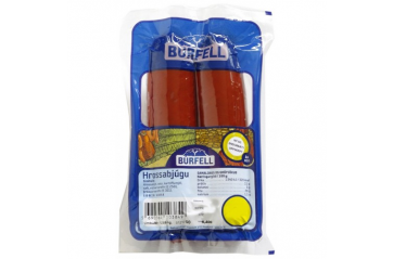 Búrfell horse sausage cooked