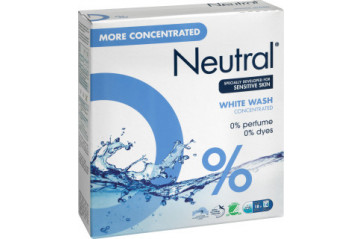 Neutral detergent comp white 14 washings