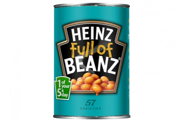 Heinz baked beans 1/2 can