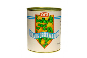 Ora Yellow Beans 1/2 can