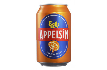Egils Orange Soda can 33cl
