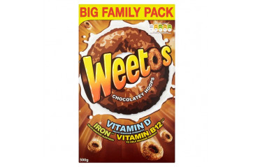 Weetos whole wheat rings 500g