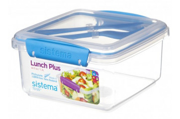 Sistema Lunch box 1.2L with cutlery to go