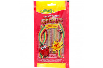 Woogie Strawberry Sour gummy 85g