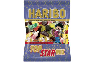 Haribo Top Star Mix 120g