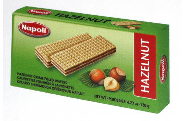 Wafer Brick Hazelnut 120g