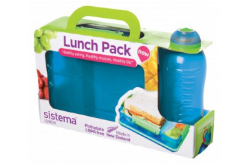 Sistema Lunch box 975ml & 330ml Bottle
