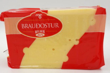 MS Brauðostur Cheese Large approx 940g/pcs
