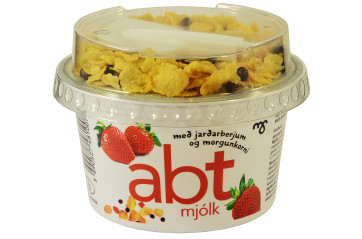 MS ABT Red Strawberry yogurt with muesli