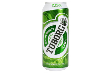 Egils Tuborg Grön Light Beer 500ml